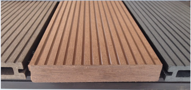 Piso deck modelo wood plastic for Casas de plastico para jardin mexico